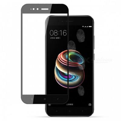 Folie sticla full glue black pentru Xiaomi Mi A1 / 5X