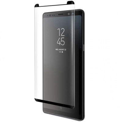 Folie sticla curbata 5D Full pentru Samsung Galaxy Note 8, Black