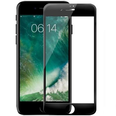 Folie sticla 5D Full pentru iPhone 5 / 5s / SE, Black
