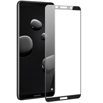 Folie sticla black 5D Huawei Mate 10