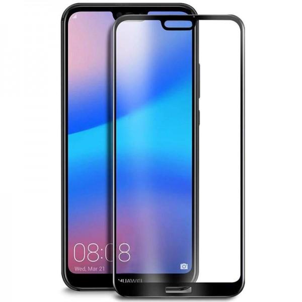 Folie sticla 5D Full pentru Huawei P20, Black