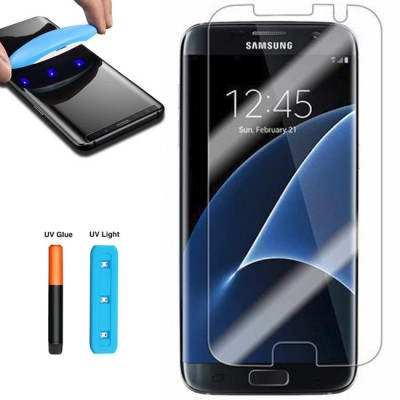 Folie sticla cu gel UV pentru Samsung Galaxy S7 Edge