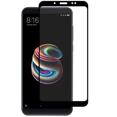 Folie sticla full glue black pentru Xiaomi Redmi 5 Plus