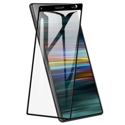 Folie sticla full glue black pentru Sony Xperia 10 Plus