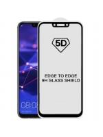 Folie sticla 5D Full pentru Huawei Mate 20 Lite, Black