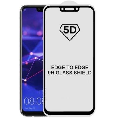Folie sticla black 5D Huawei Mate 20 Lite