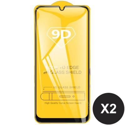 Folie sticla pentru Samsung Galaxy A20e Full 9D x2 Black