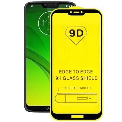Folie sticla pentru Moto G7 Play Full 9D x2 Black