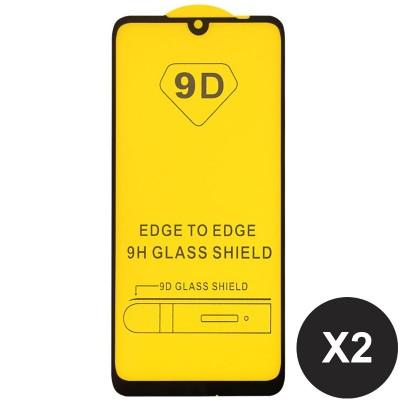 Folie sticla pentru Xiaomi Redmi Note 7 / Note 7 Pro Full 9D x2 Black