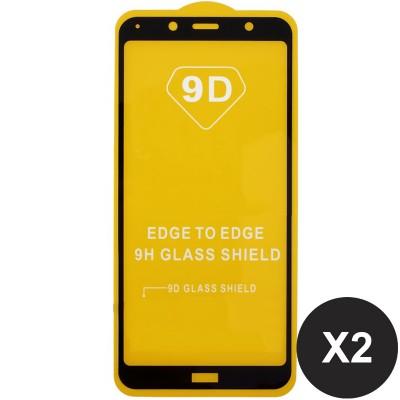 Folie sticla pentru Xiaomi Redmi 7A Full 9D x2 Black