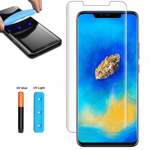Folie sticla Full UV pentru Huawei P20