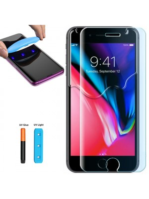 Folie sticla UV iPhone 7 Plus / 8 Plus