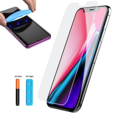 Folie sticla Full UV pentru iPhone X / XS