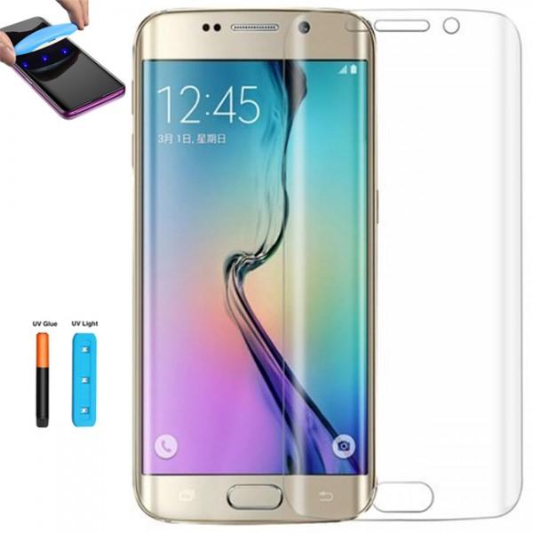 Folie sticla Full UV pentru Samsung Galaxy S6 Edge Plus