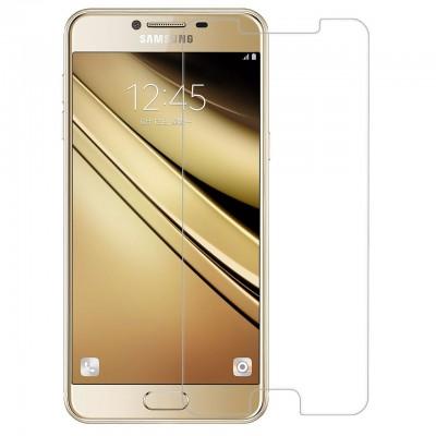 Pack 2 x folie sticla pentru Samsung Galaxy C5