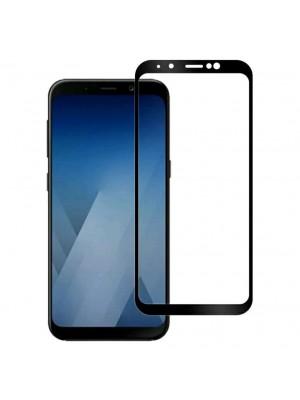 Folie sticla full glue black pentru Samsung J4 Plus (2018)