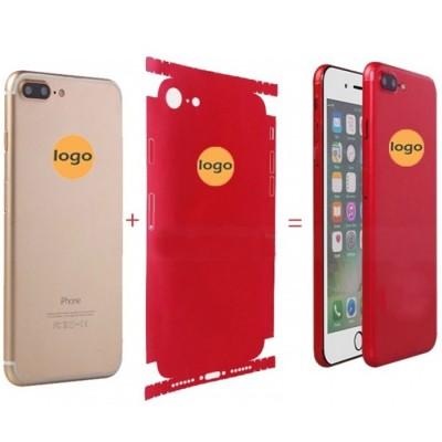 Sticker spate pentru iPhone 6 Plus / 6s Plus, Red