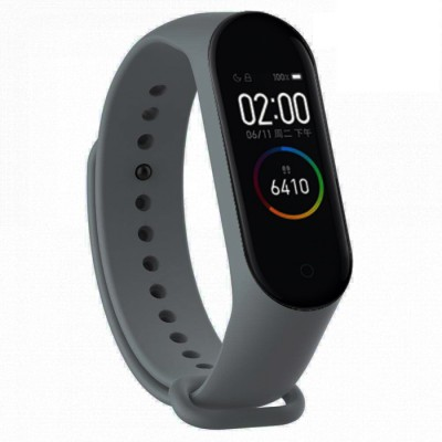 Bratara Fitness M4 Band Grey, Ritm Cardiac, Puls, Monitorizare Activitati, Notificari Apeluri SMS Aplicatii