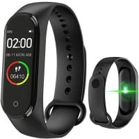 Bratara Fitness M4 Band, Monitorizare Activitati Sanatate Somn, Notificari, Black