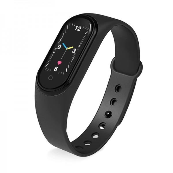 Bratara Fitness M5 Band, Functie Telefon, Notificari, Monitorizare Activitati Puls Somn, IP67