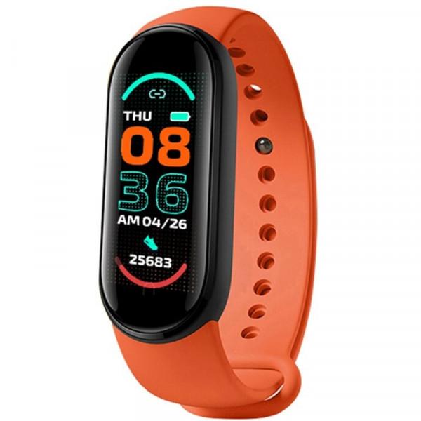 Bratara Fitness M6 Band, Bluetooth, Monitorizare Puls, Activitati si Sanatate, Vibratii, Red