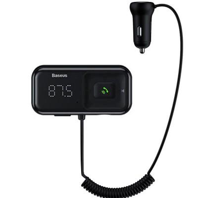 Incarcator auto Baseus S16, Remote, Modulator FM Inalta Calitate, Bluetooth, 15W