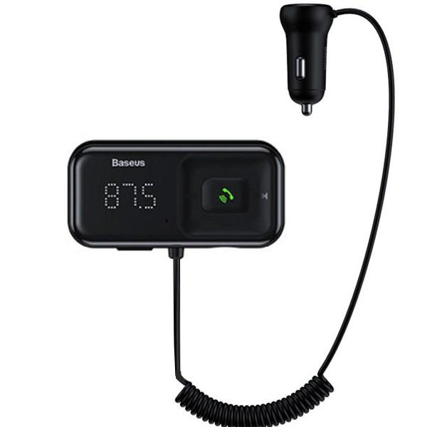 Incarcator auto Baseus S16, Remote, AUX, 2xUSB, Modulator FM, Bluetooth, 3.1A