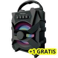 Boxa portabila PD-S500, 5W, Bluetooth, Radio FM, USB + 1 GRATIS