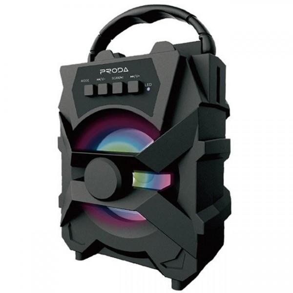 Boxa portabila PD-S500, 5W, Bluetooth, Radio FM, USB, Aux