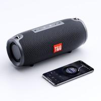 Boxa portabila T&G, Bluetooth, AUX, Sunet 360, Radio FM, 10W, Negru