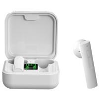 Casti wireless NytroPods Air 6 Pro, Bluetooth 5.0, HD Microfon, Afisaj, White