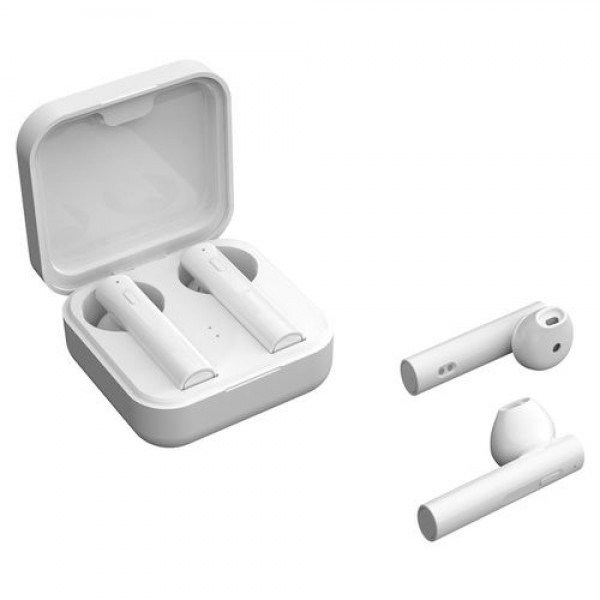 Casti wireless NytroPods Air 6 Pro, Bluetooth 5.0, HD Microfon, Afisaj, White
