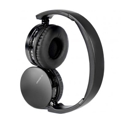 Casti wireless over-ear B32, Bluetooth, Extra BASS, Microfon, Aux IN, Black