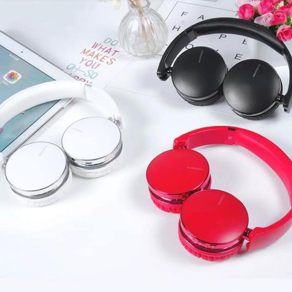Casti wireless over-ear B32, Bluetooth, Extra BASS, Microfon, Aux IN, Black