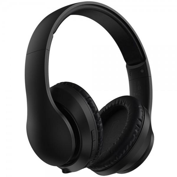 Casti wireless over-ear Baseus Encok D07, Bluetooth 5.0, BASS, Microfon, AUX, Black