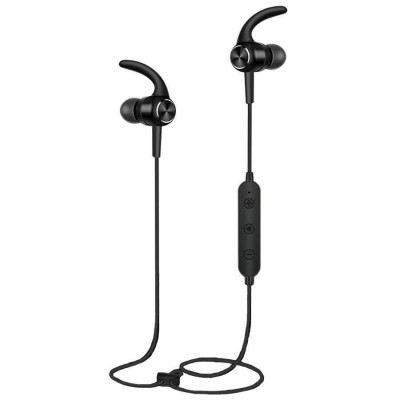 Casti sport wireless BS11, Bluetooth 5.0 , Microfon, Black