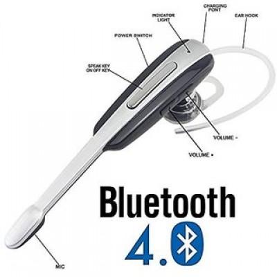 Casca Bluetooth MH100, Microfon extins, Universal + 1 GRATIS