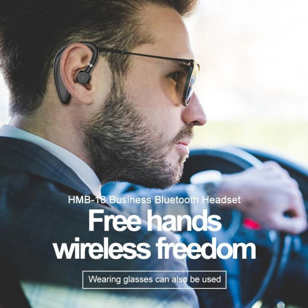 Casca bluetooth HM-18 Business, Autonomie Mare 25 ore, MultiPoint, Confortabila, Bluetooth 5.0