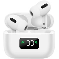 Casti wireless EVO Buds Pro (i58), X-Bass, Bluetooth 5.0, Afisaj, Microfon, 3D Touch