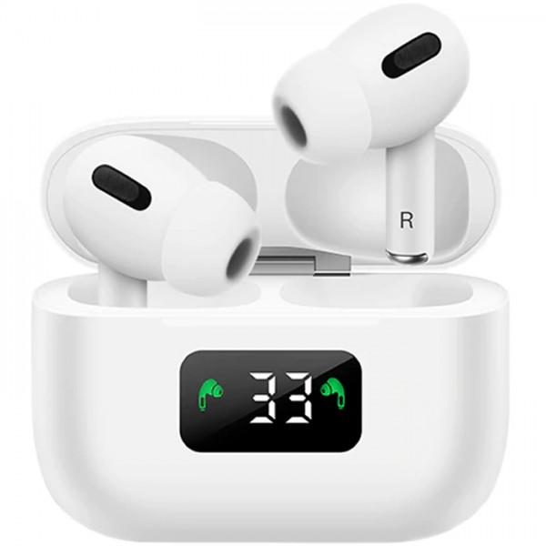 Casti wireless NytroPods i58 Pro, TWS AAC HD, Bass, Bluetooth 5.0, Afisaj, Microfon, Touch Control