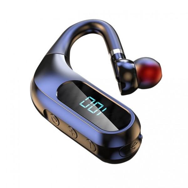 Casca bluetooth NYTRO K10, Bluetooth 5.0 + EDR, Afisaj, Utilizare ureche stanga/dreapta, Microfon HD