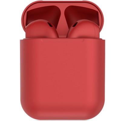 Casti bluetooth wireless EVO Buds, Bluetooth 5.0, Touch, Red