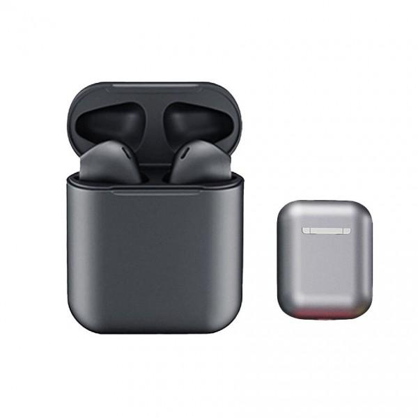 Casti bluetooth wireless EVO Buds, Bluetooth 5.0, Touch, Gri