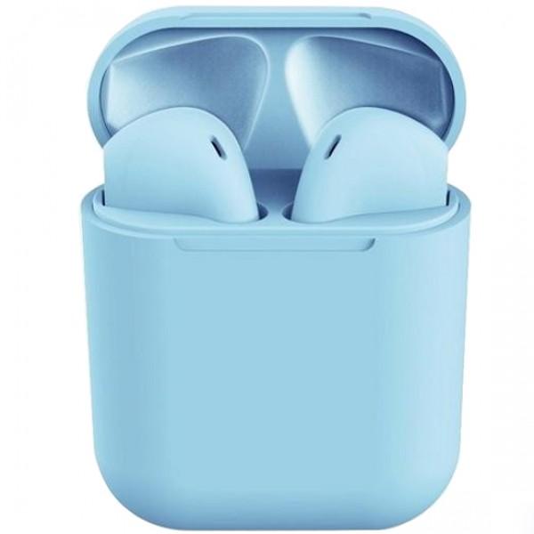 Casti bluetooth wireless EVO Buds, Bluetooth 5.0, Touch, Light Blue