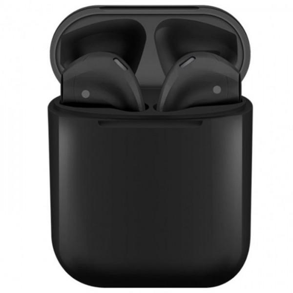 Casti bluetooth wireless NytroPods TWS 1.2, Bluetooth 5.0, Touch, Black