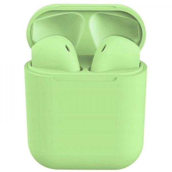 Casti bluetooth wireless NytroPods TWS 1.2, Bluetooth 5.0, Touch, Green