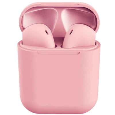 Casti bluetooth wireless NytroPods TWS 1.2, Bluetooth 5.0, Touch, Pink