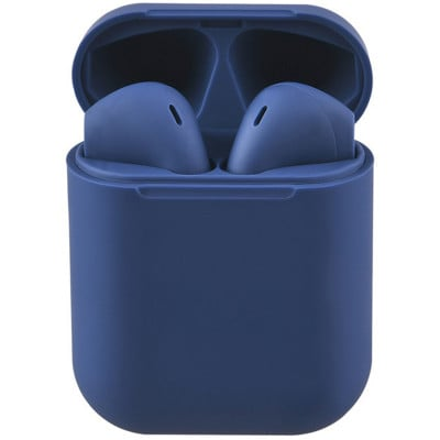 Casti bluetooth wireless NytroPods EVO Buds, Bluetooth 5.0, Touch, Blue