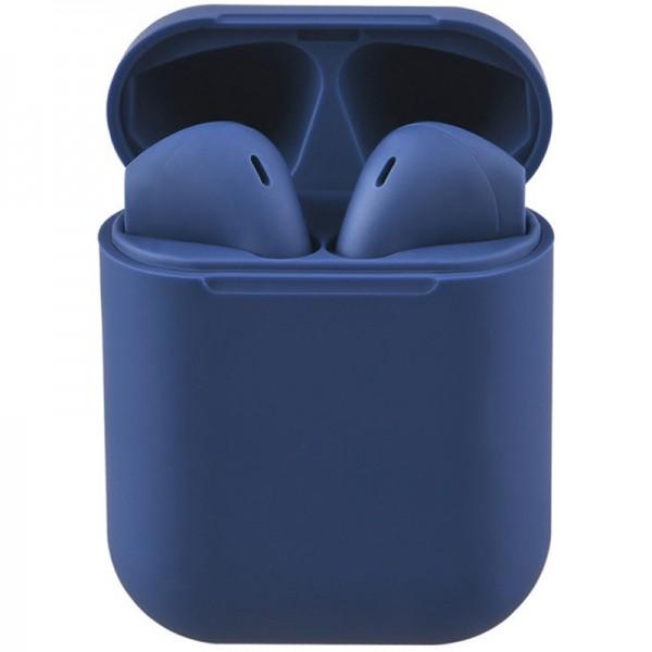Casti bluetooth wireless EVO Buds, Bluetooth 5.0, Touch, Blue