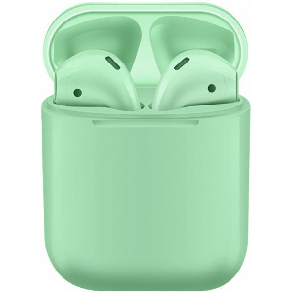Casti bluetooth wireless NytroPods EVO Buds, Bluetooth 5.0, Touch, Green